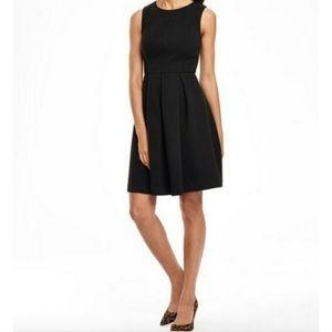 Boden Black Ribbed Emille Ottoman Dress SZ 6